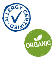 Allergy Certified and Organic